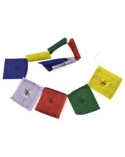 Modlitebné zástavky, 10x zástaviek, 18x19cm, čierna tlač, bavlna