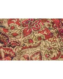 Koberec, ručne tkaný, bavlna, 117x200cm