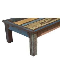 """Konferenčný stolík v """"Goa"""" štýle, teakové drevo, 123x77x43cm"""