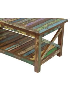 """Konferenčný stolík v """"Goa"""" štýle, teakové drevo, 120x60x50cm"""