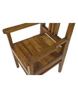 Stará stoličky z teakového dreva, 52x50x100cm