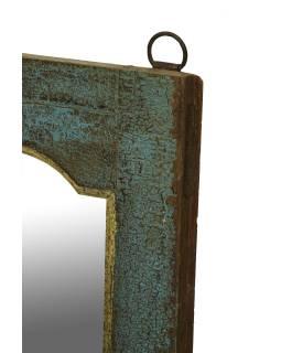 Zrkadlo v ráme z teakového dreva, 31x3x113cm