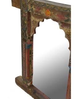 Zrkadlo v ráme z teakového dreva, 88x9x94cm
