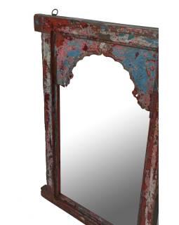 Zrkadlo v ráme z teakového dreva, 74x6x105cm