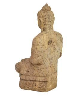 Pieskovcová socha z Orissa, Budha, 55x43x93cm