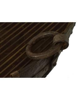 "Kovová misa / ohnisko ""Kada"" s roštom na stojane, 95x95x60cm"