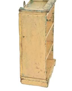 Skrinka z teakového dreva, 28x25x40cm