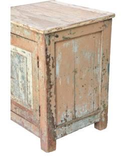 Nočný stolík z teakového dreva, 60x54x77cm