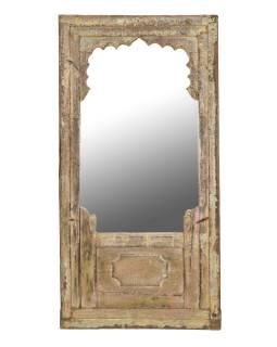 Zrkadlo v ráme zo starého teakového dreva, 80x5x160cm