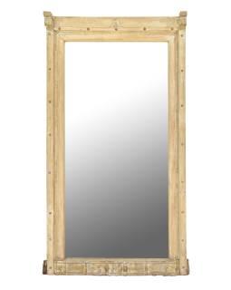 Zrkadlo v ráme zo starého teakového dreva, 100x28x156cm