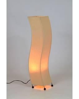 Stojaca lampa / tienidlo z režné látky, 24x20x100cm