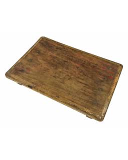 Čajový stolík z teakového dreva, 53x37x8cm