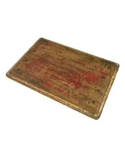 Čajový stolík z teakového dreva, 56x37x8cm