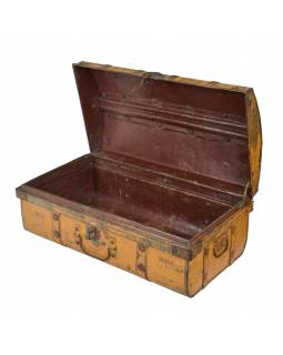 Plechový kufr, příruční zavazadlo, 61x34x25cm