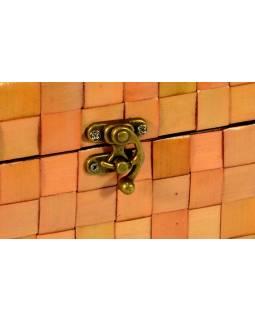Ratanová truhlička, svetlá, 25x15x15cm