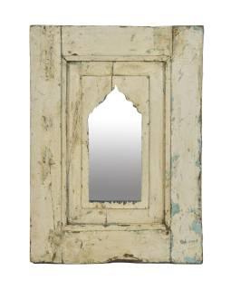 Zrcadlo v rámu z teakového dřeva, 44x3x59cm