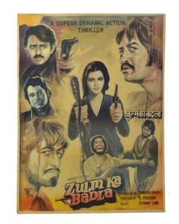Antik filmový plagát, cca 98x75cm
