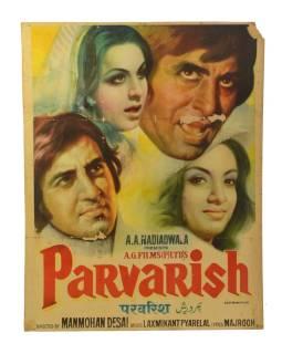 Plagát 98x75cm, Antik filmový Bollywood,
