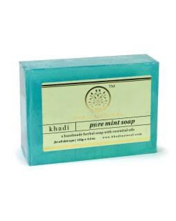 Ručne vyrábané mydlo s esenciálnymi olejmi, Mint, 125g