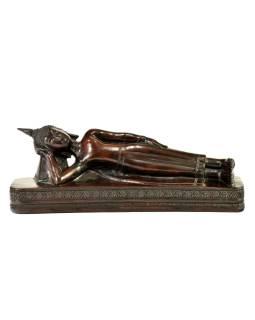 Narodeninový Budha, utorok, živice, hnedý, 50cm
