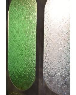 """Lampa, osemboká, kovová vyrezávaná lampa, 95cm, """"antik finish"""""""