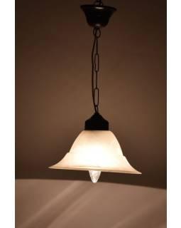 Sklenená lampa, 23x13cm
